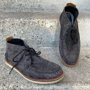 Toms Men's Mateo Lace-Up Chukka Casual Boots sz 9